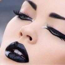 czarna szminka
