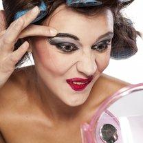 postarzający makijaż