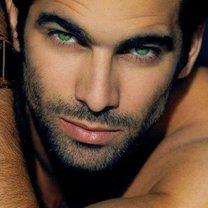 zielone oczy u mężczyzn