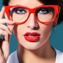 makijaż do okularów