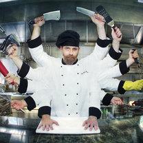 profesjonalista w kuchni