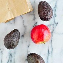 avokado z jabkiem