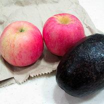jabłka z awokado