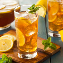 zielona herbata lemoniada