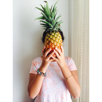 maseczka z ananasa