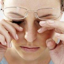 zmęczenie oczu