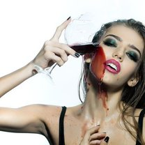 maseczka z wina