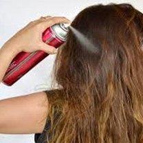 Jak zrobić domowy lakier do włosów krok 2