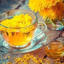 Mrożona herbata z mniszka lekarskiego krok 1