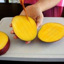 mango krojenie
