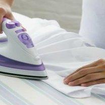prasowanie ubrań