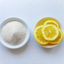 cukier z cytryną