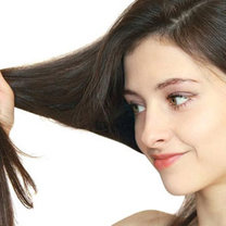 włosy ocet rycynowy