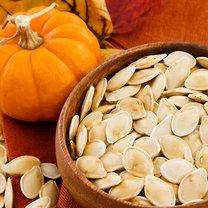 Pieczone nasiona dyni z cynamonem krok 2