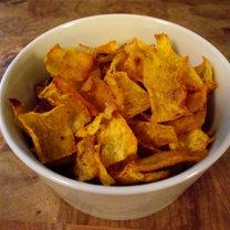 Jak zrobić domowe chipsy dyniowe krok 2