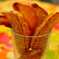 Jak zrobić domowe chipsy dyniowe krok 3