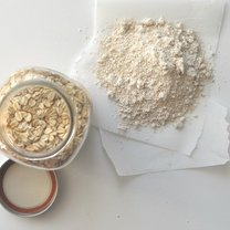 Jak zrobić domową mąkę owsianą krok 3