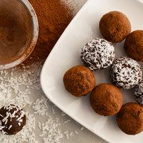 kulki w czekoladzie wegańskie