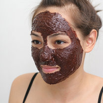 czekoladowa maseczka do twarzy