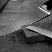 nóż ostrzenie