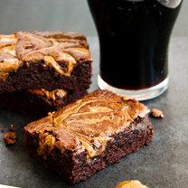 czekoladowe piwne brownie