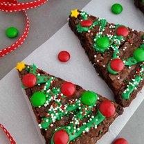 choinkowe brownie