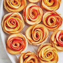 różyczki z jablek