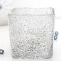 śnieżny wazon