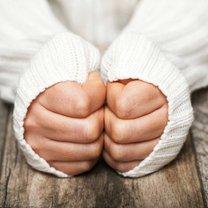 zimne dłoni