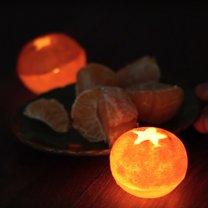 świeczka mandarynka