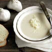 pyszna zupa czosnkowa