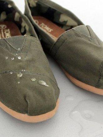 żeby buty nie przemakały