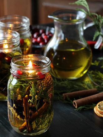 świeca oliwna