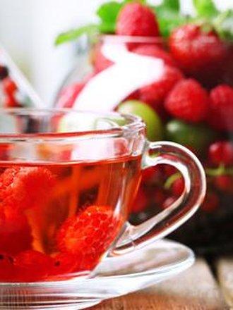 herbata z liści malin