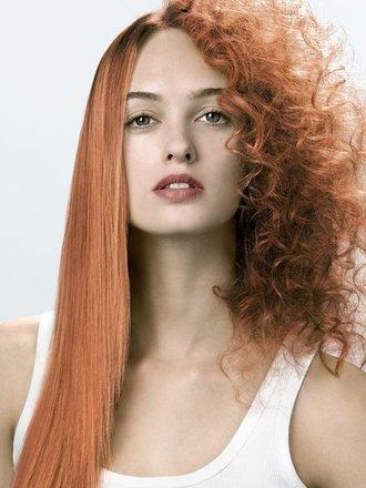 prostowanie włosów naturalnie
