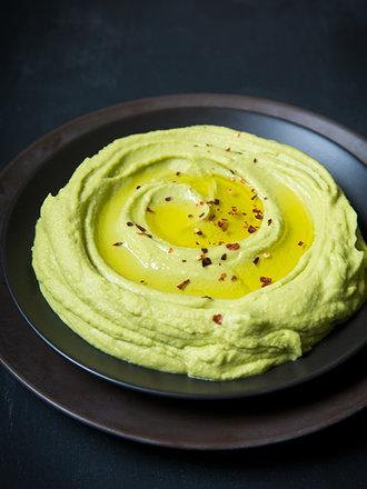 humus z awokado