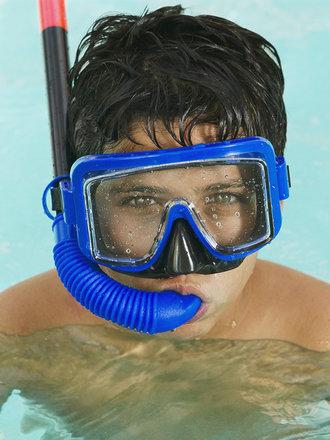 chlor w basenie