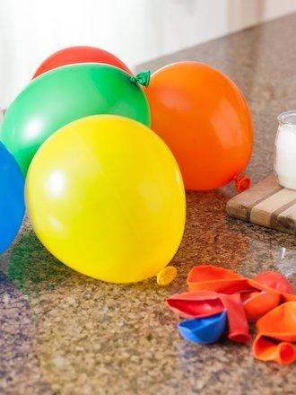 balony dmuchanie