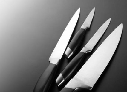 Domowy sposób na czyste noże