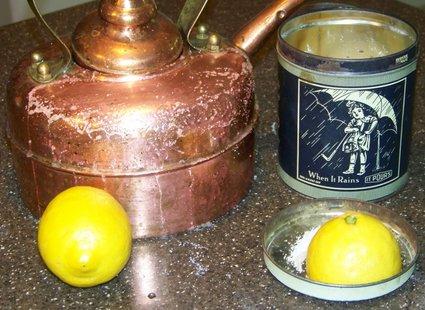 czyszczenie rdzy cytryna