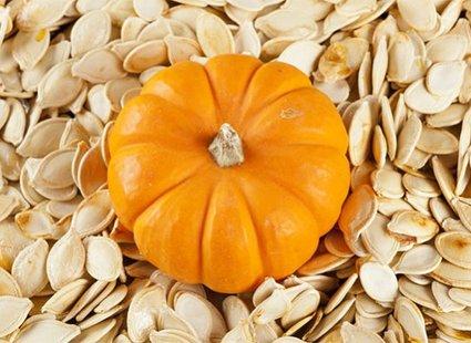 Pieczone nasiona dyni z cynamonem krok 1