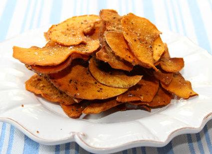 Jak zrobić domowe chipsy dyniowe krok 1