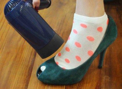 Ciasne buty krok 2