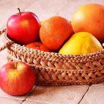 jabłka i grejpfruty