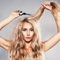kruche włosy