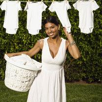 białe ubranie