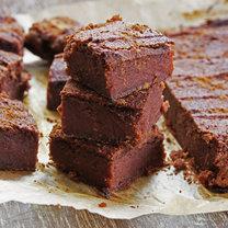 wegańskie brownie