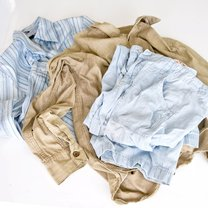 pomięte ubrania