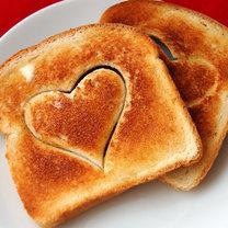 walentynkowe tosty