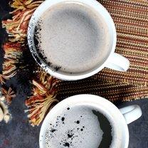 kawa z grzybami